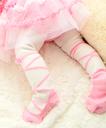 人気No1カラー[プリンセスピンク]《奈良の靴下職人が作る逸品》日本製ベビータイツ「Pinkish」【メール便可】